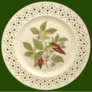 Decorated Spices Plate- Pepper