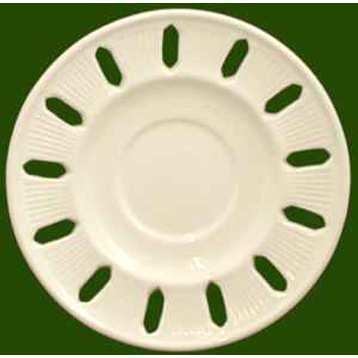 Pierced Ribbon Saucer