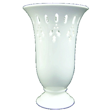 Holly Ribbon Vase