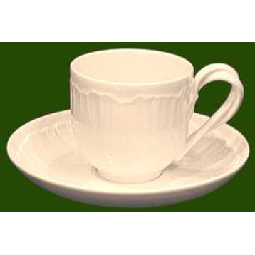Shell Edge Tea Cup & Saucer