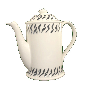 Animal Instinct Coffee Pot