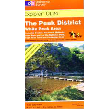 Ordnance Survey The Peak District