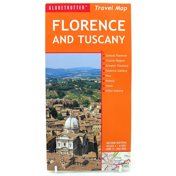 Florence and Tuscany Travel Map