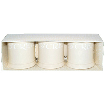 White Toast Mini Mug Candles
