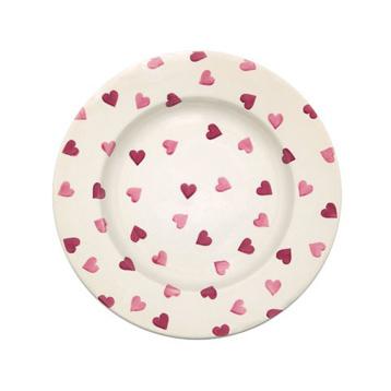 Pink Hearts Plates