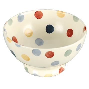 Polka Dot French Bowl