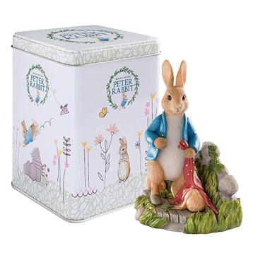 Peter Rabbit in the Garden Figurine