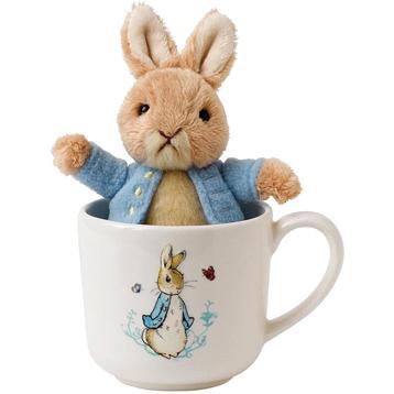 Peter Rabbit Mug & Soft Toy Gift Set