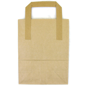 Tree Saver Brown Paper Bag Brown