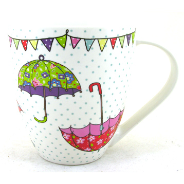 Caravan Trail Festival Brollies Crush Mug