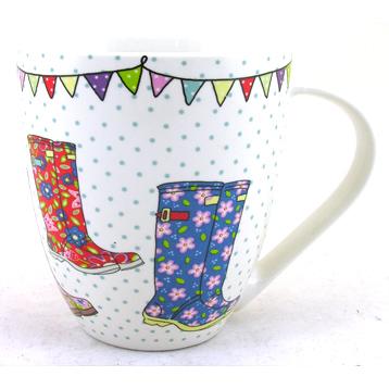 Festival Wellies Crush Mug