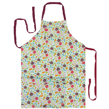 Caravan Trail Mint Apron