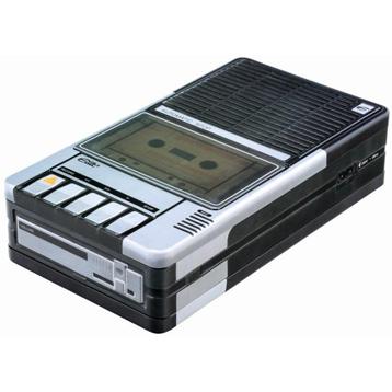Cassette Recorder Tin