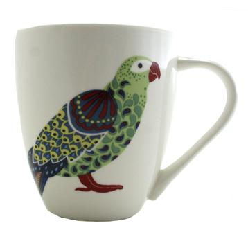 Paradise Birds Parrot Crush Mug 500ml