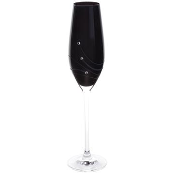 Noir Flute Glasses (2 Pack)