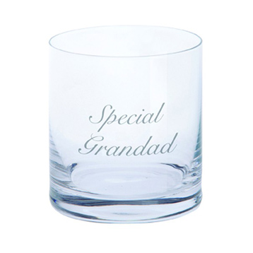 Just For You 'Special Grandad' Tumbler Glass