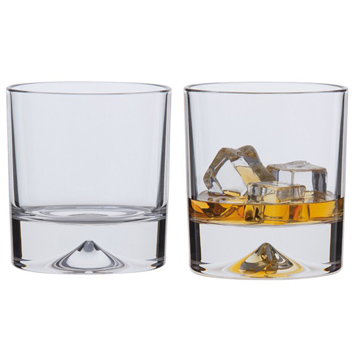 Dimple Double Old Fashioned Whisky Glasses