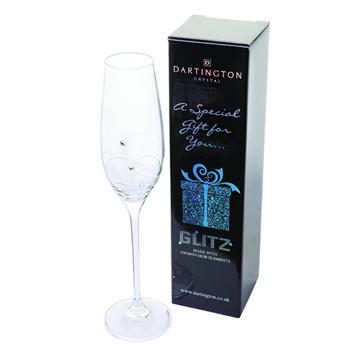 Glitz Flute Single Gift Boxed