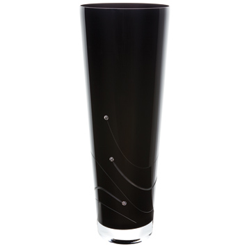 Noir Conical Vase Large
