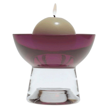 Plum Candle Bowl