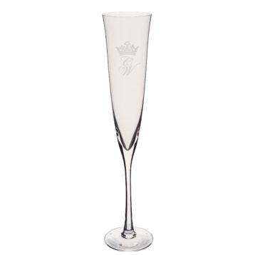Royal Wedding Toasting Flute Pair