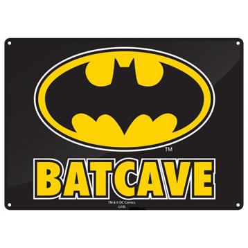 Batman Batcave Small Tin Sign