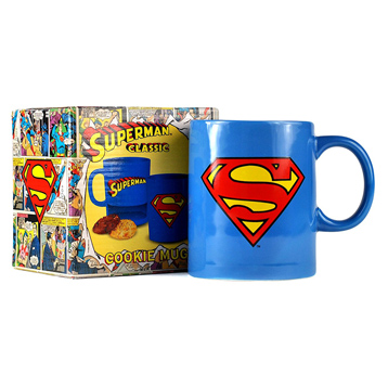Superman Cookie Mug