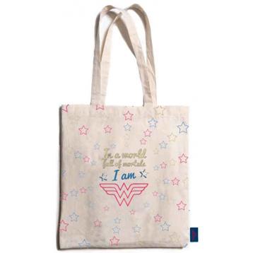 Wonder Woman Cotton Shopping Bag
