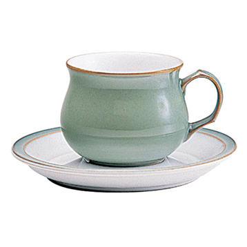 Regency Green Teacup & Saucer