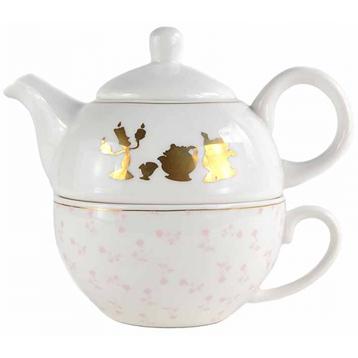 Beauty and The Beast Tea for One Tea Set
