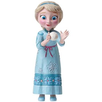 Young Elsa Mini Figurine