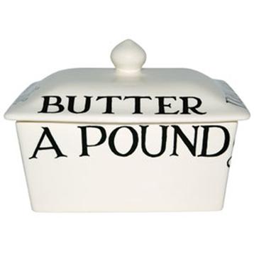 Black Toast Butter Dish