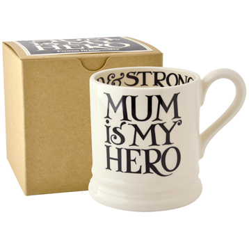 Mum is My Hero 1/2 Pint Mug