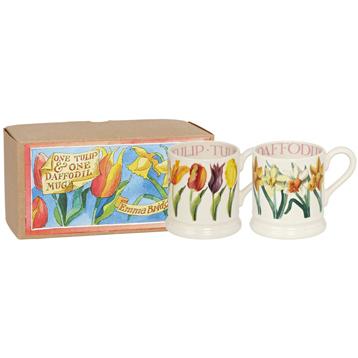 Set of Two 1/2 Pint Mugs