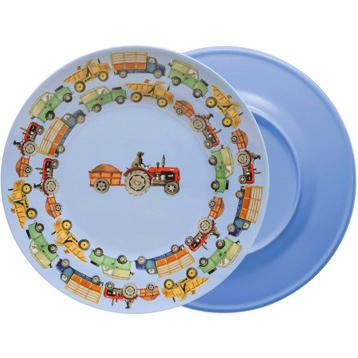 2 Tone Melamine Plate