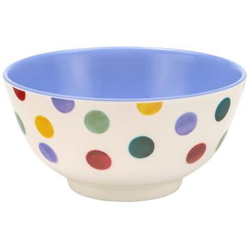 Polka Dot 2 Tone Melamine Bowl