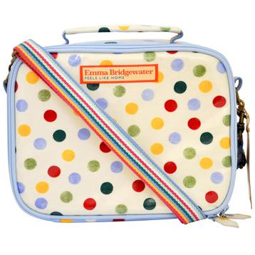 Polka Dot Lunch Bag
