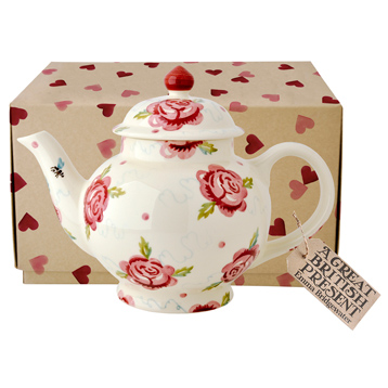 Rose & Bee Teapot Boxed