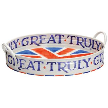Union Jack Large Tray