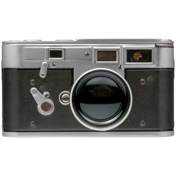 Vintage Camera Storage Tin