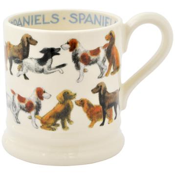All Over Spaniels ½ Pint Mug