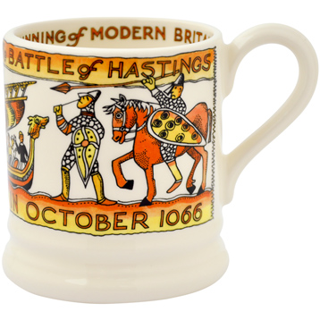 The Battle of Hastings 1/2 Pint Mug