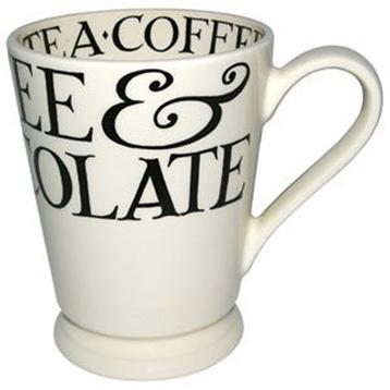 Black Toast Cocoa Mug