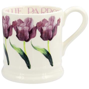 Blue Parrot Tulip ½ Pint Mug