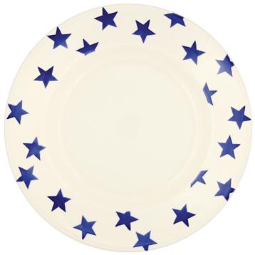 "Blue Star 10½"" Plate"
