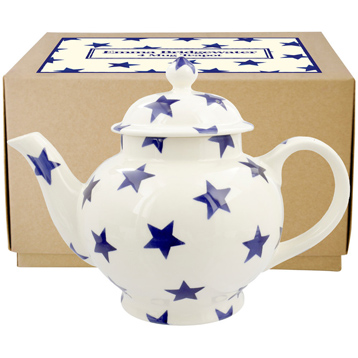 Blue Star 4 Mug Teapot