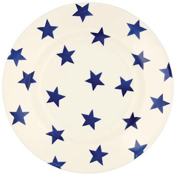 "Blue Star 8½"" Plate"
