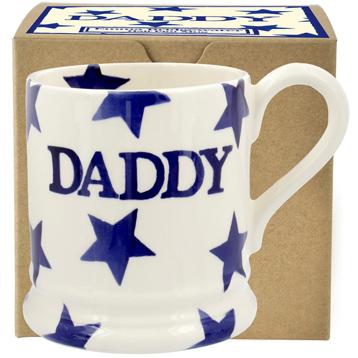 Blue Star Daddy ½ Pint Mug