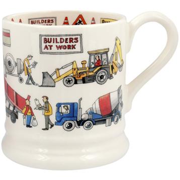 Builders at Work ½ Pint Mug