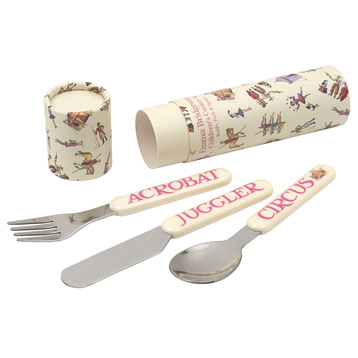 Circus Cutlery Set in a Tube
